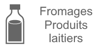fromages produits laitiers