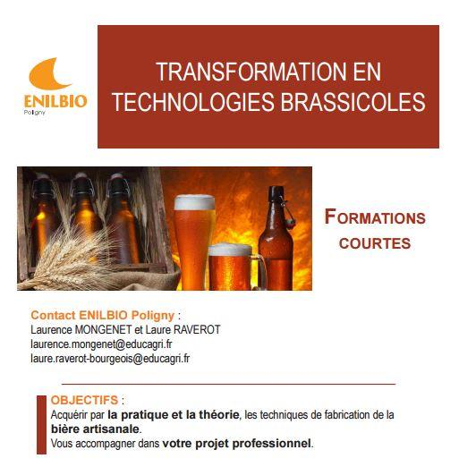 formation stage biere