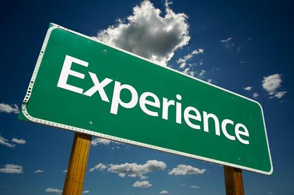 Expérience Experience Experience